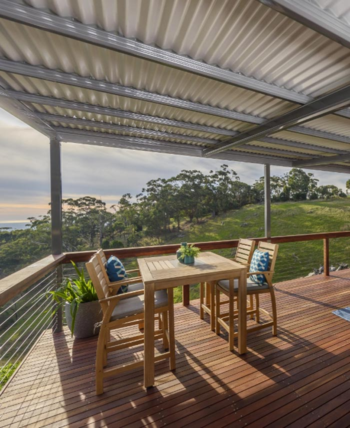Mount Lofty Ranges Project by Mid Coast Pergolas and Decks Mobile